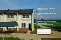 Malanday San Mateo Rizal House & Lot for Rent to Own