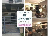 BF Resort Village Las Pinas City Townhouse for Sale