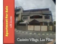 Casimiro Village Las Pinas City 6-Door Apartment for Sale