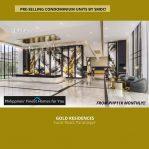 Gold Teaser Residential Entrance