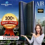 Air Residences   6.3M (2021)